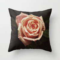 Blooming Love Throw Pillow by DuckyB (Brandi)