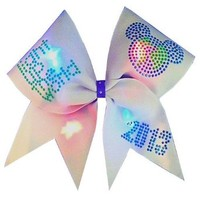Chosen Bows Light Up the World Cheer Bow