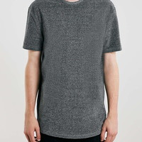 Charcoal Towelling Classic Fit T-Shirt - New This Week - New In