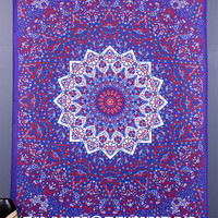 Star Mandala Tapestries, Hippie Tapestry Wall Hanging, Indian Boho Tapestry Throw, Bohemian Wall Tapestries, Dorm Bed Tapestries, Wall Decor