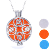 Aromatherapy  Essential Oil Diffuser Locket Necklace