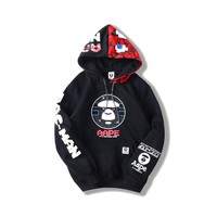 HCXX 19Sep 633 AAPE Plus hooded coat sweater