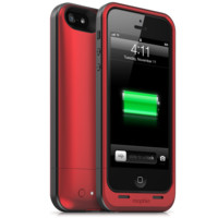 mophie (PRODUCT) RED juice packs For iPhone 5, 4 & 4S