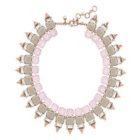 J.Crew Womens Crystal Spike Necklace