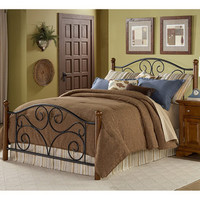 Doral Full-size Bed with Frame | Overstock.com