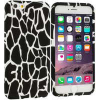Black Giraffe TPU Design Soft Case Cover for Apple iPhone 6 6S (4.7)