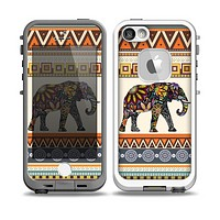 The Aztec Elephant Skin for the iPhone 5-5s Fre LifeProof Case
