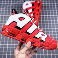Nike Air More Uptempo Pippen Red Wild Sneakers