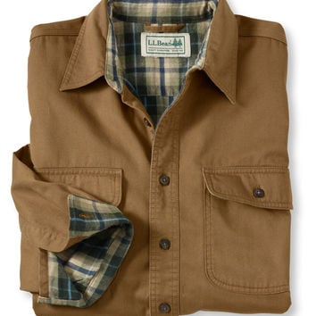 Hurricane Cloth Shirt: Flannel, Chamois and Lined | Free Shipping at L.L.Bean