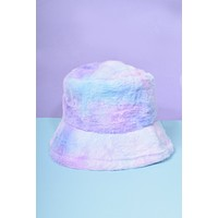 Head In The Clouds Furry Bucket Hat
