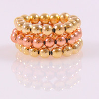 Serenity Two Tone Gold Ring