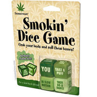 Stonerware - Smokin' Dice  Game on Sale for $5.95 at The Hippie Shop
