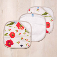 Poppy Wash Towels
