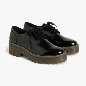Monki | Shoes | Platform oxfords