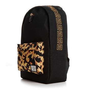 CAYLER & SONS Migos Downtown Backpack-OS black/yellow ornaments