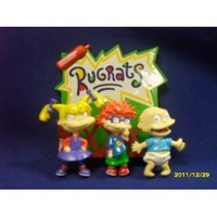 4-Piece Rugrats Memo Buddy Magnet Set: w/NotePad Holder, Tommy, Chuckie & Angelica Magnets