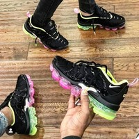 Nike Air Vapor Max Plus New fashion sports leisure shoes women Black