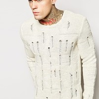 ASOS Jumper with Laddering