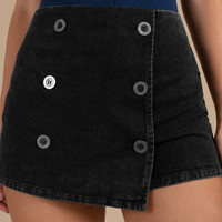 As If Denim Skort