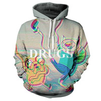 Adventure Time Drugs Hoodie