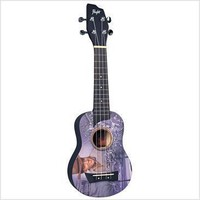 Flight EPSJ Special Edition Elvis Presley Soprano Ukulele with Gig bag Chord Chart and Songbook  | Hello Music