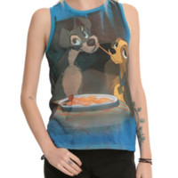 Disney Lady And The Tramp Dinner Girls Muscle Top