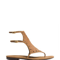 Tamara Mellon - Jungle Fever Flat - Tan
