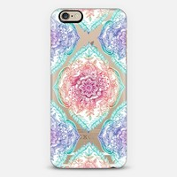 Indian Ink - rainbow version on transparent iPhone 6 case by Micklyn Le Feuvre | Casetify