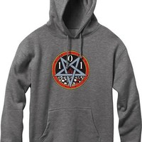 Cliche Heritage Devil Worship Hoody/Sweater M Charcoal
