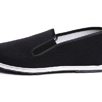 Chinese Traditional Cloth Kung Fu Shoes,Black