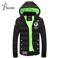 2016 Brand winter warm Jacket for men hooded coats casual mens thick coat male slim casual cotton padded down outerwear YC37589