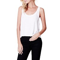 PREMIUM Lightweight Flowy Boxy Cropped Tank Top (CLEARANCE)
