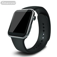Smarcent Smartwatch Smart Watch A9 for Apple iPhone IOS Android Smartphone Watches with Heart Rate relogio inteligente reloj New