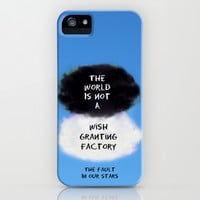 TFIOS Quote #3 iPhone & iPod Case by Jerry Maestas