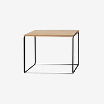DL1 Tangram Oak Side Table