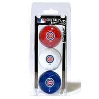Chicago Cubs 3 Pack of Golf Balls