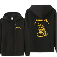 Classic Heavy Metal Metallica Autumn Man Hoodie Casual Loose Cool Men Hoodies Sweatshirt Tracksuit Gift For Fans Coat ST-023