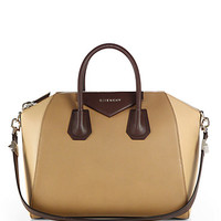 Givenchy: Antigona Tricolor Medium Top-Handle Satchel