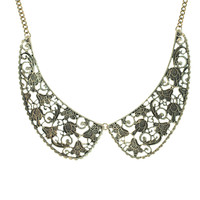 Wendy Loves Peter Pan Collar Necklace