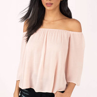 It's Alright Off Shoulder Blouse