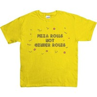 Pizza Rolls Not Gender Roles -- Youth/Toddler T-Shirt
