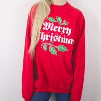 Vintage Lighted Ugly Christmas Sweatshirt