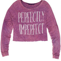 Perfectly Imperfect Long-Sleeve - Purple