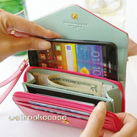 Wallet samsung galaxy s5 case Cute Bling iphone5s case iphone4s crystal Samsung galaxy S3 case cover,iphone4case iphone 5 case samsung note3