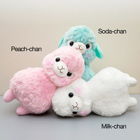 Sherbert Kids Alpacasso Plushies (Big)