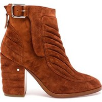 Laurence Dacade Barbara Velvet Boot - Browns - Farfetch.com
