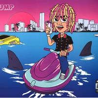 Lil Pump Album Cover Poster 24x36