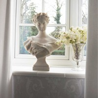 Diane Bust   Grecian Style Female Stone Bust