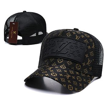 LOUIS VUITTON Fashion Snapbacks Cap Women Men LV  Sports Sun Hat Baseball Cap Q_1481979175