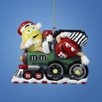 Christmas Ornament - Yellow And Red M&m's